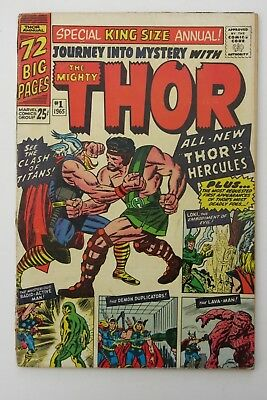Journey Into Mystery Annual #1 - Mighty Thor - 1st app. Hercules - Marvel Comics