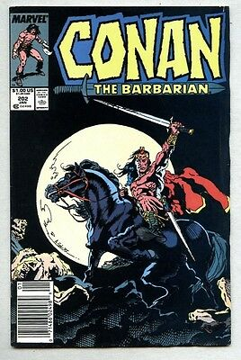 Conan The Barbarian #202-1988 fn+ Thulsa Doom