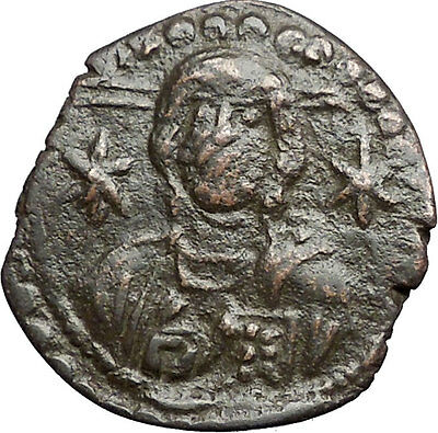 MICHAEL VII Ducas 1071AD JESUS CHRIST Follis LARGE Ancient Byzantine Coin i55761