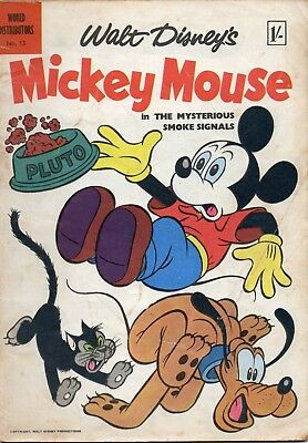 Walt Disney's 'Mickey Mouse' #13, 1957 (WDL)