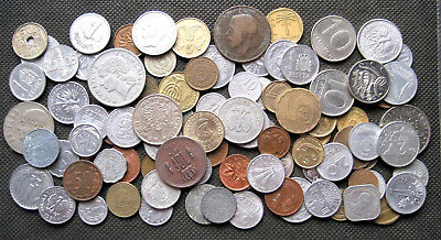 Big Lot Of Coins From All Over The World (Over 100 Coins) - Mix