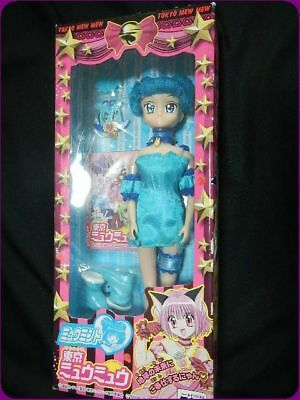 Tokyo Mew Mew Manga Minto Aizawa Cosplay Hairwear Blue Short Wig Excellent In Quality