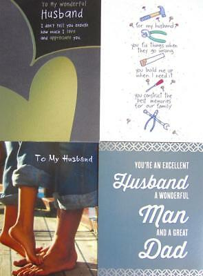 FOR HUSBAND Classic Father's Day Card PAPYRUS or Recycled Paper Greetings