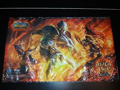 World of Warcraft Reign of Fire Playmat *sealed*