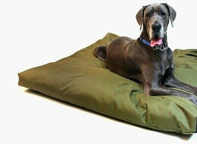 Waterproof Dog Bed Cushion with Heavy Duty Tough Removable Military Grade Cover