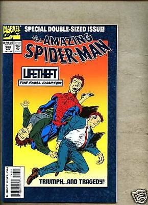 Amazing Spider-Man #388 1994 nm- Spiderman Giant Foil