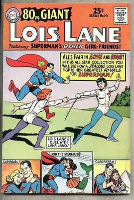 80 Page Giant #14-1965 vg  Eighty Page Superman Lois Lane