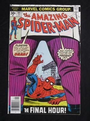 Amazing Spider-Man #164 MARVEL 1977 - NEAR MINT 9.8 NM - Kingpin app - Stan Lee!