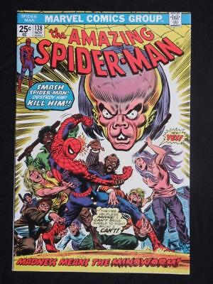 Amazing Spider-Man #138 MARVEL 1974 - NEAR MINT 9.4 NM - Stan Lee, Peter Parker!