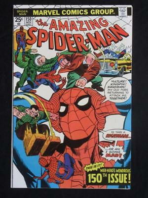 Amazing Spider-Man #150 MARVEL 1975 - Spider-Man decides he's not the clone!!!