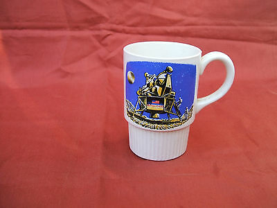Vintage Price Kensington Ceramic First Moon Landing Mug July 1969