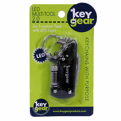 ULTIMATE SURVIVAL TECHNOLOGIES 50-KEY0072-01  Led Multi-Tool 2.0, Black