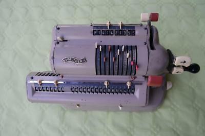 WALTHER WSR 160 mechanical calculater, fully operational.
