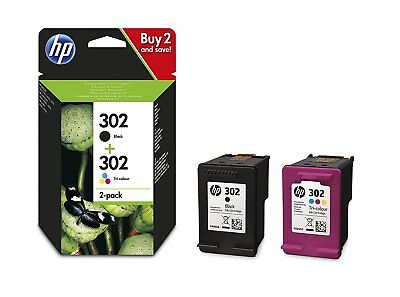 HP 302 Set Original black und color für HP Deskjet 1110 2130 2132 2134 3630