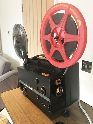 Bell & Howell 20 XC Dual eight SUPER 8 8MM Cine Film Projector Fully Serviced