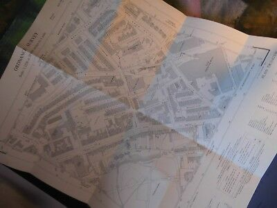 "Dover-London Road,River Dour-Industry,Housing: 50""Scal Planners Map 1950'S-60'S"