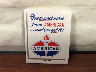 Vintage NOS 1950's American Amaco Advertising Matchbook Centerport, PA.