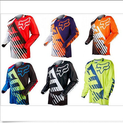2018 New MTB fox Cycling Jersey motocross bike clothing Bicycle Long sleeve  D55 8f69885ce