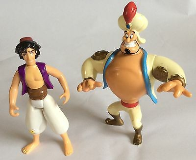 Aladdin – Disney – Figures – Aladdin & The Genie - Mattel