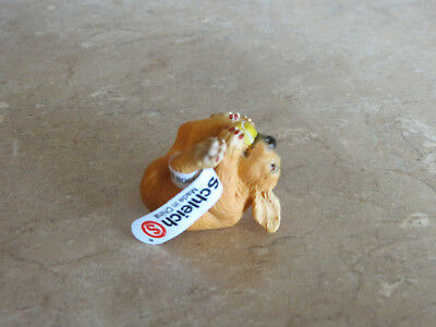 NWT Schleich Rare retired #14453 Puppy with Ball dog made only 2004-2005