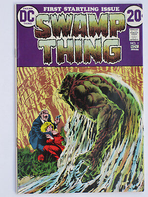 SWAMP THING # 1  US DC 1972  Berni Wrightson art    NM-