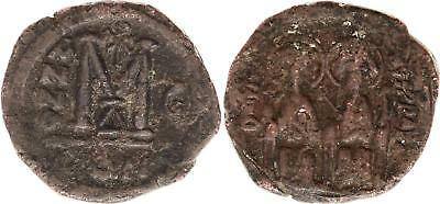 Byzance Follis, Justin II and Sophia (565-578) - Constantinople Year G