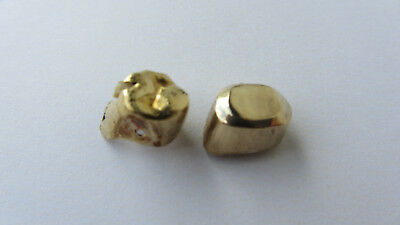 Sehr altes Zahngold, Altgold, Hochgold  3,3 gr,