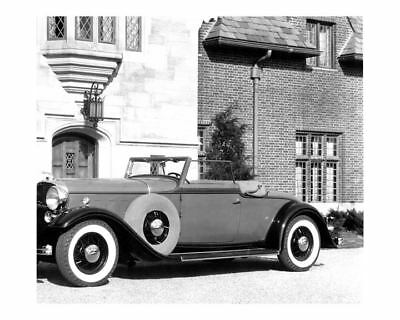 1932 Lincoln LeBaron V12 Convertible Roadster Factory Photo uc6794