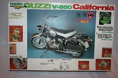 Protar 1/6 Scale Moto Guzzi California Motorcycle Plastic Model Kit
