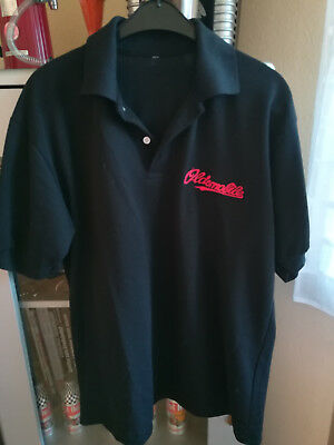Polo Shirt  ' Oldsmobile '  Gr. L/XL