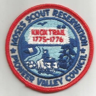 BSA Patch Moses Scout Reservation Defunct Pioneer Valley Council Knox Trail