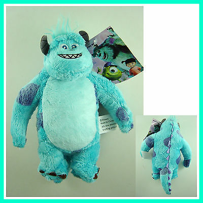 """NEW Disney Monster INC 9.5"""" Furry Monster Sulley Soft Plush Stuffed Toy Doll"""