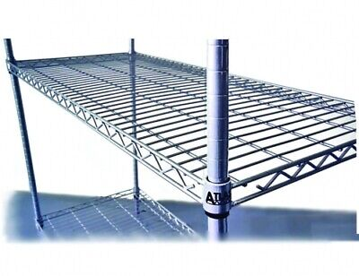 Atlas 5 Shelf Wire Add-On Shelving Kits A24547Epl5