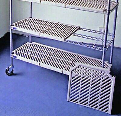 Atlas 4 Shelf Plastic Mat Add-On Shelving Kits Apm18727Epl