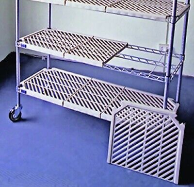 Atlas 4 Shelf Plastic Mat Shelving Kits Pm18307Epl