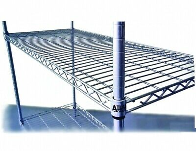 Atlas 4 Shelf Wire Shelving Kits 14727Epl