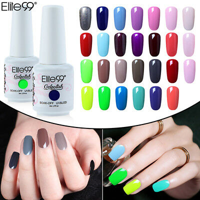 Elite99 Soak Off Gel Nail Polish Lacquer Manicure Nail Art Top Base Coat Varnish