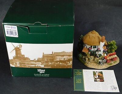 Lilliput Lane THE DRAYMAN ST ALBANS The British Collection in Box  With Deeds