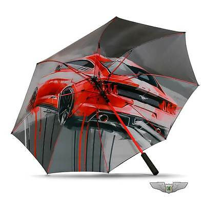Ford Lifestyle Collection New Genuine Ford Mustang XL Golf Umbrella 35021320