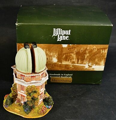 Lilliput Lane THE GREAT EQUATORIAL Millennium Special Edition in Box  With Deeds