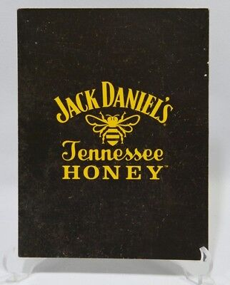 JACK DANIEL'S WHISKEY dépliant cartonné Tennessee Honey