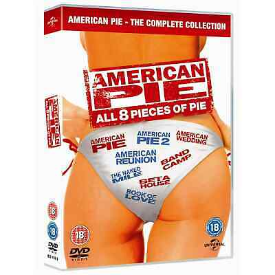 American Pie - The Complete Collection (8 Films) DVD NEW DVD (8291968)