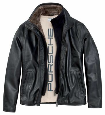 Porsche Driver's Selection Men's Leather Jacket - Classic