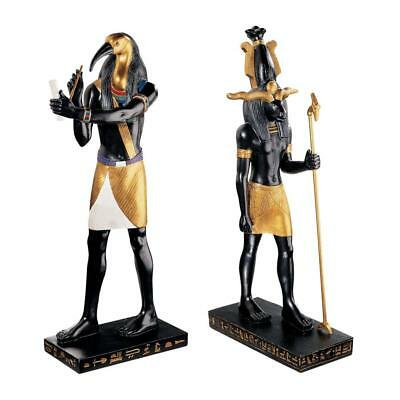 Design Toscano  Khnum, Creator of Mankind and Thoth, God of Scribes: Set