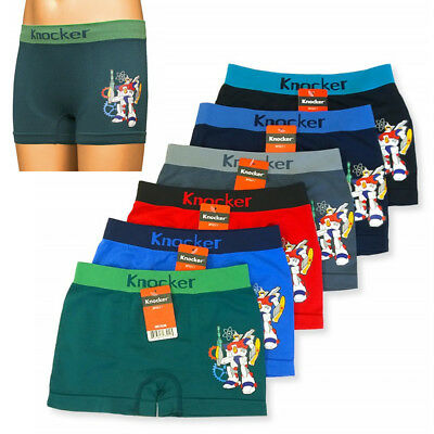 349422f73fa1 12 Knocker Boys Boxer Shorts Seamless Transformer Spandex Kids Underwear S  M L