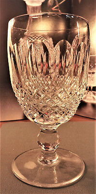 """Waterford Colleen Short Stem Claret Glasses 602/137 4 3/4"""" TOP QUALITY Signed"""