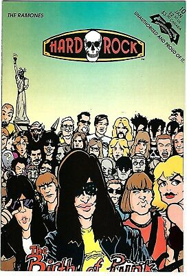 "Hard Rock Comics #10  The Ramones (1993)  FN/VF  1st Print  ""Revolutionary"""
