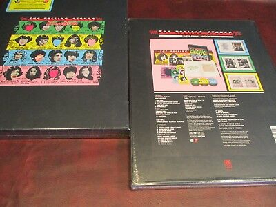 ROLLING STONES Some Girls SUPER DELUXE NUMBERED DIE BOX SET PLAY 1 BACK UP 1