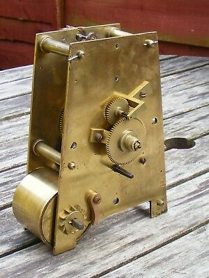 An Antique English Single Fusee Clock Movement.
