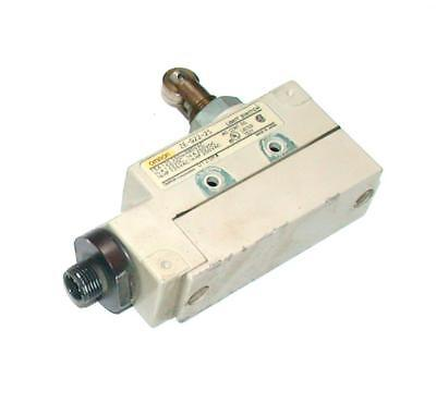 Omron   Ze-Q22-2S  Roller Limit Switch W/Pin Connector  1 N.o. 1 N.c. Contacts